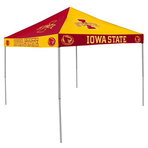 Logo Iowa State University Straight-Leg 9 ft x 9 ft Checkerboard Tent