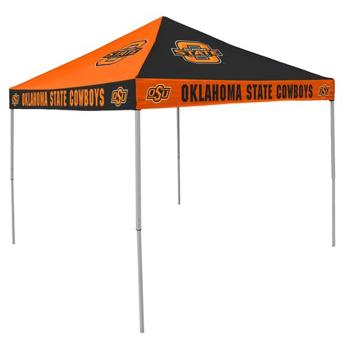 Logo™ Oklahoma State University Straight-Leg 9' x 9' Checkerboard Tent