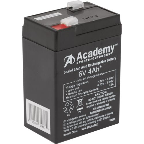 Academy Sports + Outdoors™ ™ 6V 4 Ah Feeder Battery