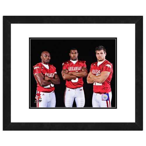 Photo File University of Arkansas 8' x 10' Running Backs Photo