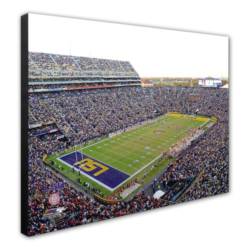 Photo File Louisiana State University Tiger Stadium 8""