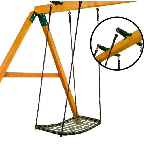 Gorilla Playsets™ Chill 'N Swing with Glider Brackets