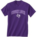 New World Graphics Men's Stephen F. Austin State University Arch Mascot T-shirt