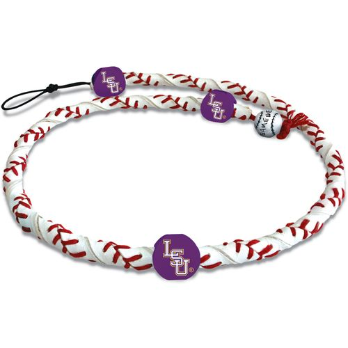 GameWear Louisiana State University Classic Frozen Rope Baseball Necklace