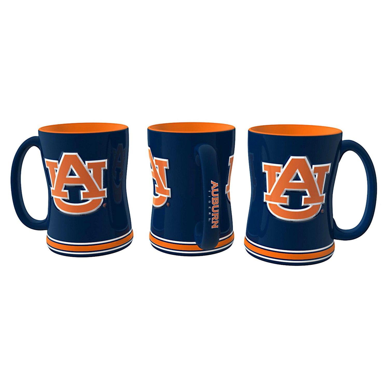 Boelter Brands Auburn University 14 oz. Relief-Style Coffee