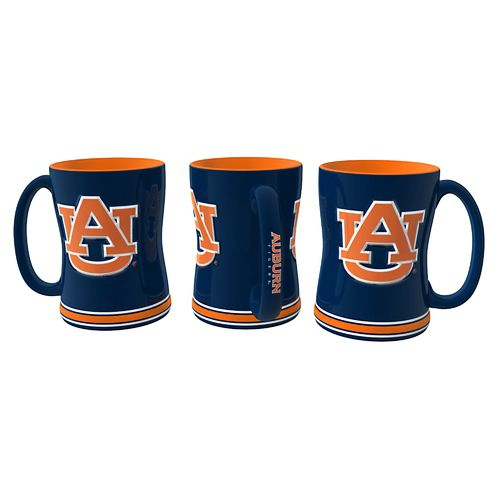 Boelter Brands Auburn University 14 oz. Relief-Style Coffee Mug