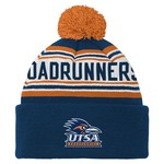 adidas™ Boys' University of Texas at San Antonio Cuffed Knit Cap with Pom
