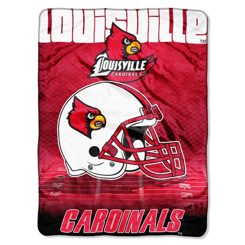 The Northwest Company University of Louisville Overtime Micro Raschel Throw