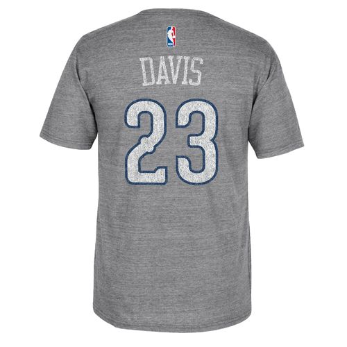 adidas™ Men's New Orleans Pelicans Anthony Davis #23 Distressed T-shirt