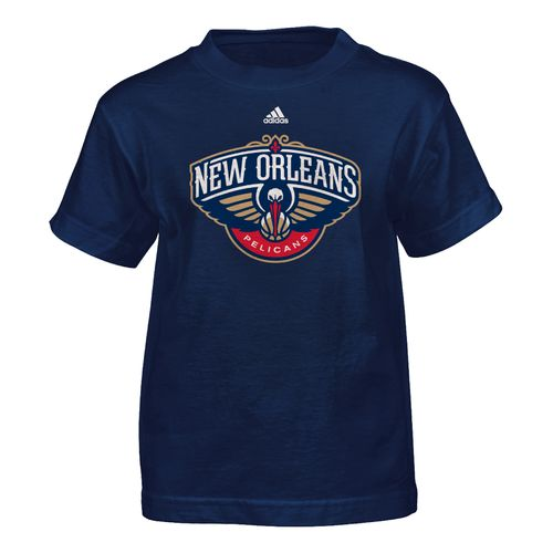 adidas™ Boys' New Orleans Pelicans Primary Logo Short Sleeve T-shirt