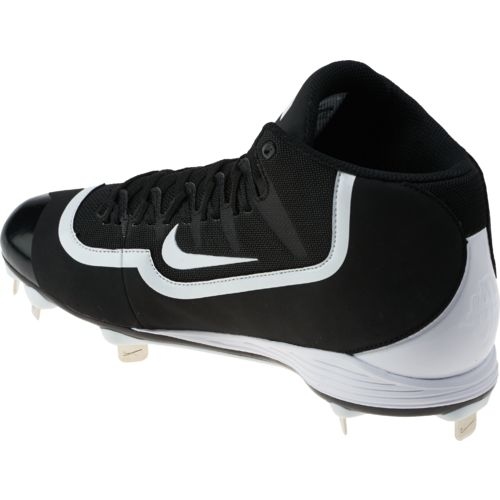 Nike Men's Huarache 2KFilth Pro Mid Baseball Cleats - view number 3