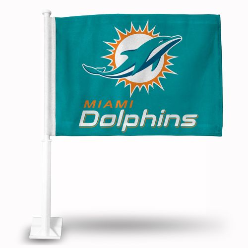 Rico Miami Dolphins Car Flag