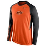 Nike Men's Oklahoma State University ELITE Shootaround Long Sleeve T-shirt