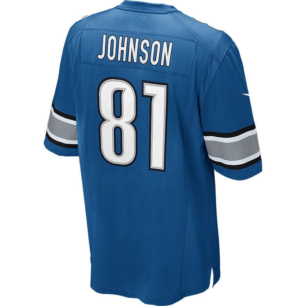 Nike Men's Detroit Lions Calvin Johnson #81 Game