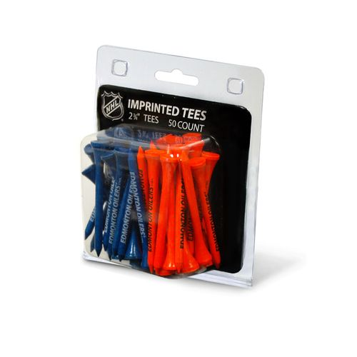 Team Golf Edmonton Oilers Golf Tees 50-Pack
