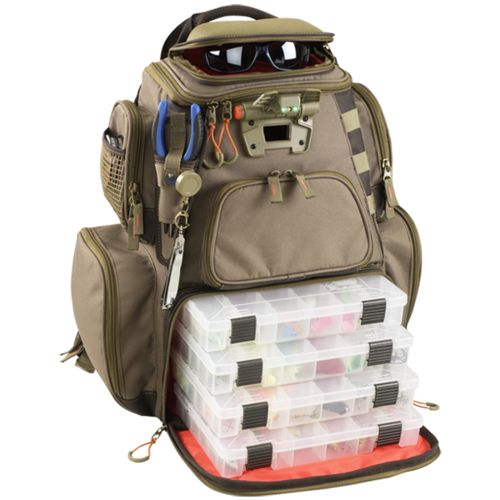 Wild River® Tackle Tek™ Nomad Lighted Fishing Backpack - view number 1