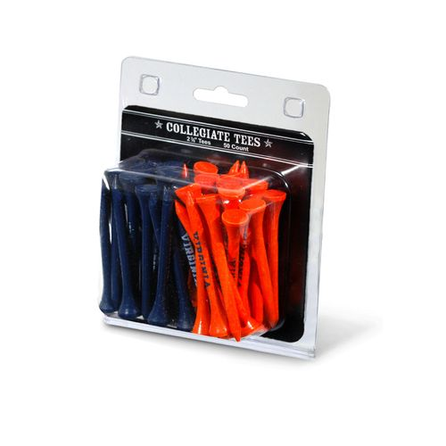 Team Golf University of Virginia Golf Tees 50-Pack