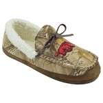 Campus Footnotes Men's University of Arkansas Realtree Camo Microfiber Moccasins