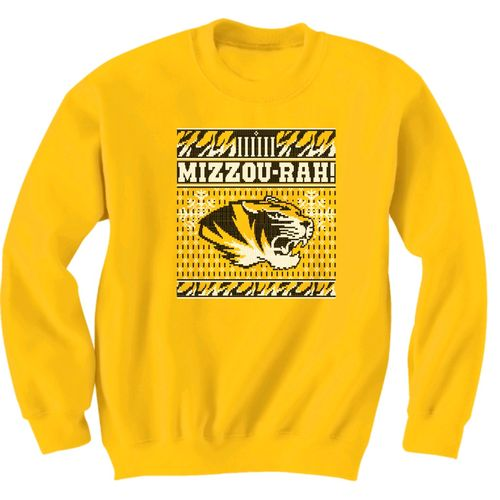 New World Graphics Men's University of Missouri Ugly Sweater T-shirt