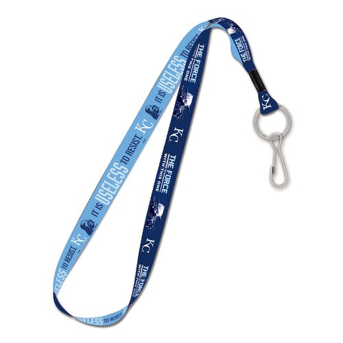 WinCraft Kansas City Royals Darth Vader and Yoda Lanyard