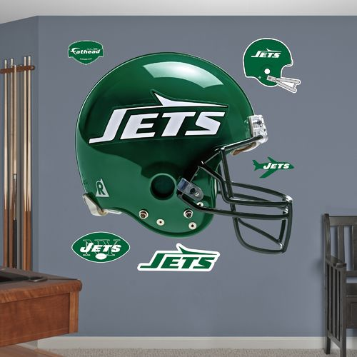 Fathead New York Jets Real Big Throwback Helmet Decal