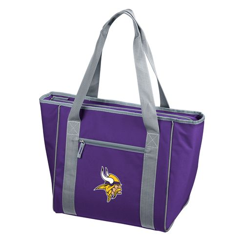 Logo™ Minnesota Vikings 30-Can Cooler Tote Bag - view number 1