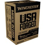 Winchester USA Forged 9mm Luger 115-Grain Handgun Ammunition - view number 1