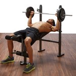 Pure Fitness Multipurpose Mid-Width Weight Bench