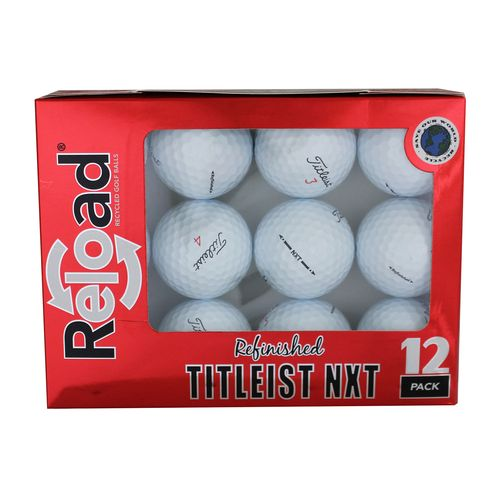Reload™ Titleist NXT Refinished Golf Balls 12-Pack