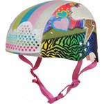 Raskullz Girls' Sparklez Loud Cloud Bicycle Helmet