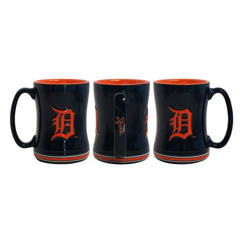 Boelter Brands Detroit Tigers 14 oz. Relief Coffee Mugs 2-Pack