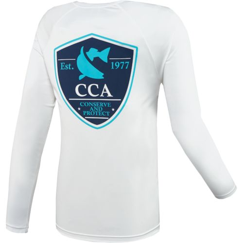 CCA Men's Moisture Management Long Sleeve T-shirt