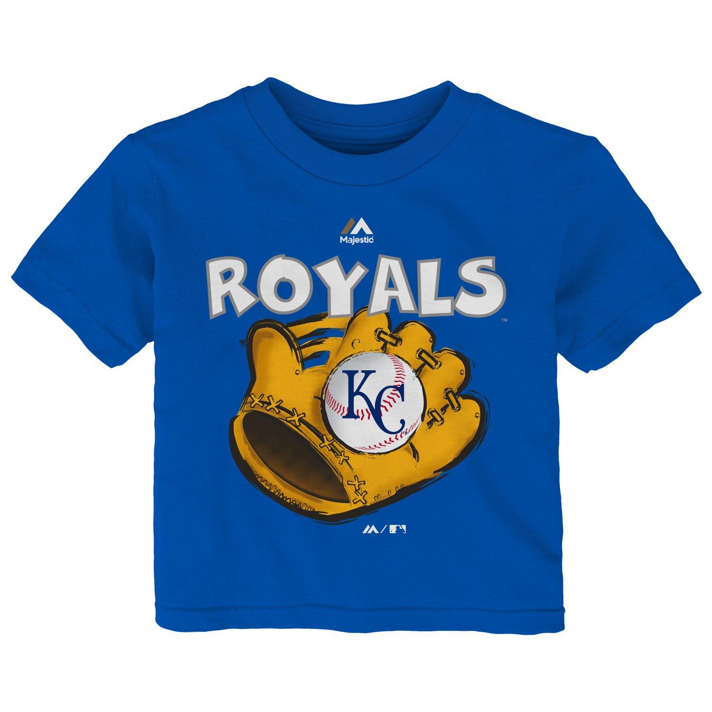 Majestic Infant Boys' Kansas City Royals Baseball Mitt
