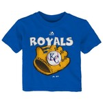 Majestic Infant Boys' Kansas City Royals Baseball Mitt Short Sleeve T-shirt