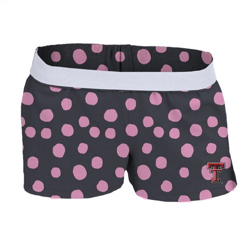 Soffe Girls' Texas Tech University Printed Authentic Low Rise Short