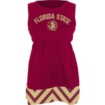 Klutch Apparel Toddlers' Florida State University Chevron Dress