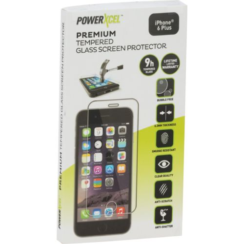 PowerXcel iPhone® 6 Plus Tempered Glass Screen Protector