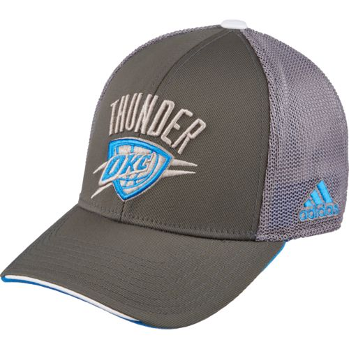 adidas™ Men's Oklahoma City Thunder Logo FlexFit Cap