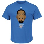 Majestic Men's Oklahoma City Thunder Kevin Durant Emoji T-shirt