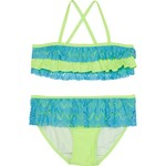 Org Kids Girls' Kitty Crochet 2-Piece Bikini