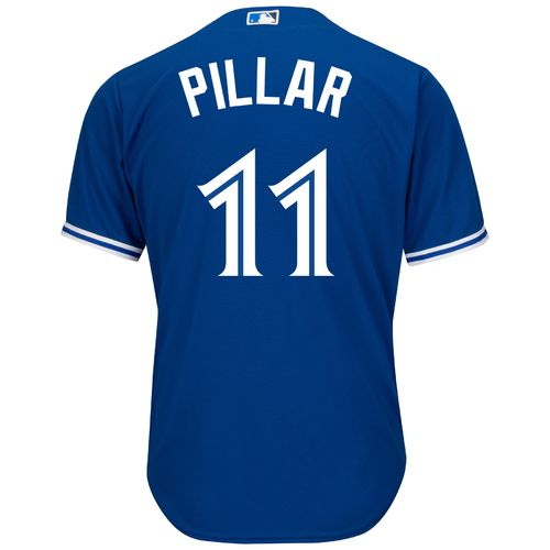 Majestic Men's Toronto Blue Jays Kevin Pillar #11 Cool Base Replica Jersey