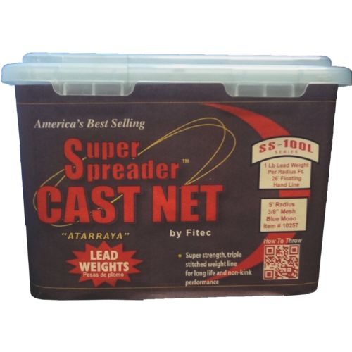 Fitec Super Spreader SS100L 5' Mesh Cast Net - view number 2