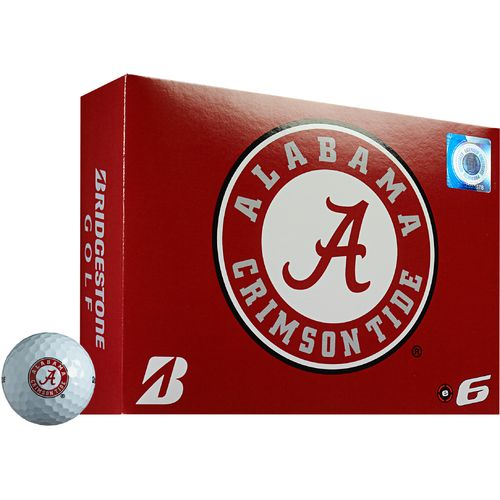 Bridgestone Golf University of Alabama e6 Golf Balls 12-Pack