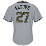 Majestic Men's Houston Astros José Altuve #27 Memorial Day Cool Base Jersey