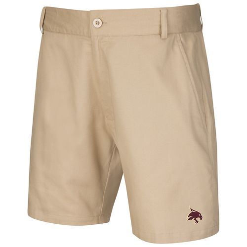 Colosseum Athletics™ Men's Texas State University Chiliwear Khaki Short