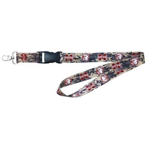 NCAA Mississippi State University Digicam Lanyard