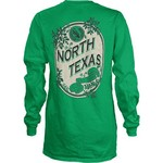 Three Squared Juniors' University of North Texas Maya Long Sleeve T-shirt