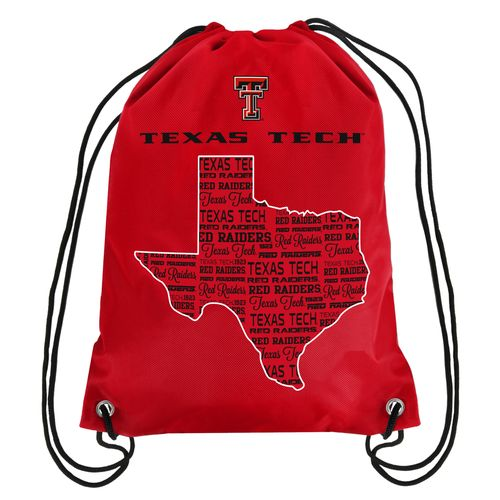 Forever Collectibles™ Texas Tech University Drawstring Backpack
