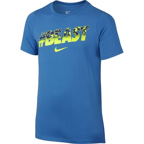 Display product reviews for Nike Boys' Beast T-shirt
