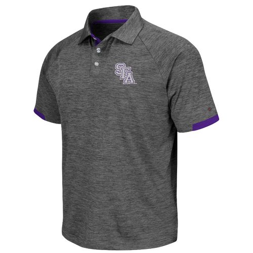 Colosseum Athletics Men's Stephen F. Austin State University Spiral Polo Shirt